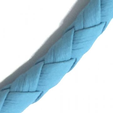 3mm synthetic soft leather cord for jewellery making - 100cm - Turquoise